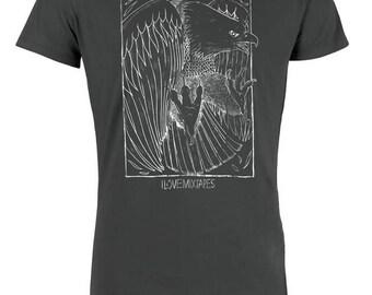 Eagle Men T-Shirt Organic & Fair Wear _graphit