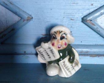 Adorable Occupied Japan Little Bug Figurine