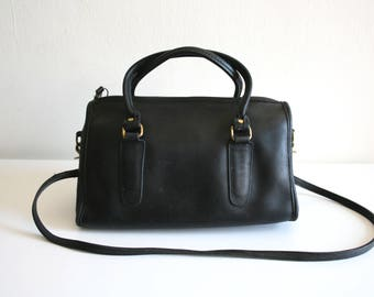 Black Coach Bonnie Cashin Handbag Satchel