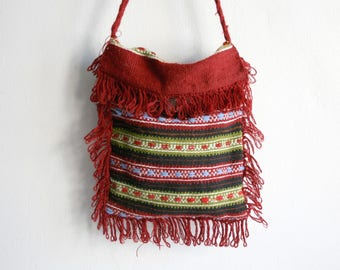 Finge Handwoven Wool Purse