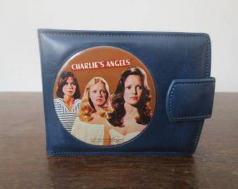 Vintage '70s Charlie's Angels Vinyl Bifold Wallet, 1977 Spelling-Goldberg Productions