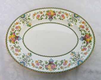 Vintage Wedgwood Platter New Condition, Wedgwood Platter Pattern W1146, Wedgwood Fine Chine, Bone China