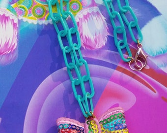 Ice Cream Cone Necklace