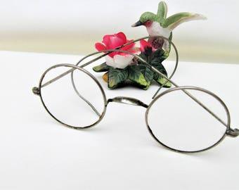 Vintage Wire Frame Glasses | Round Eyeglasses | Wire Rim Glasses | John Lennon Style Glasses