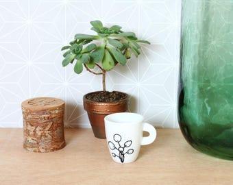 Pilea peperomioides espresso cup