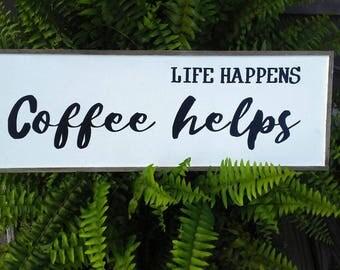 L Fe Happens Life happens   Etsy