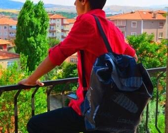 Black Backpack, Student Backpack,Paris ,Roma , Back To School Rome Backpack/Travel,School,Daily Backpack/Unisex Rucksack