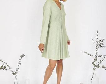 Pretty Pistachio Summer Dress