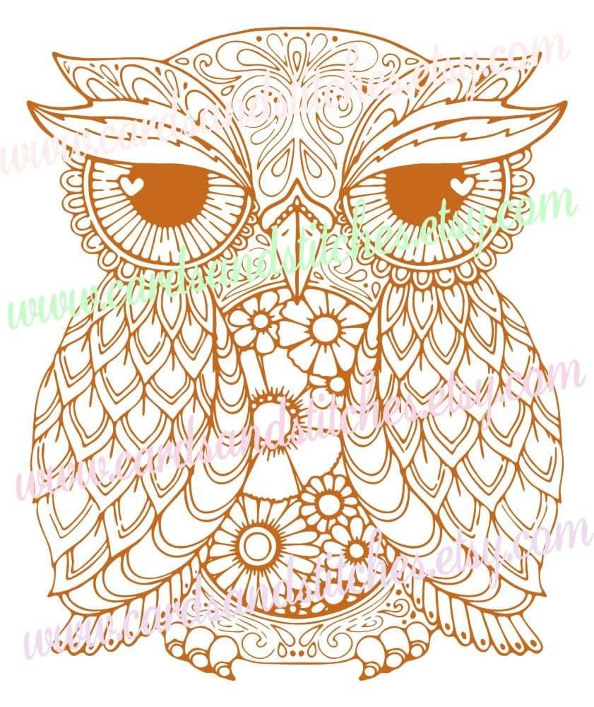 1562+ Mandala Owl Svg – SVG Bundles