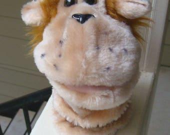 Vintage Monkey Hand Puppet Cute