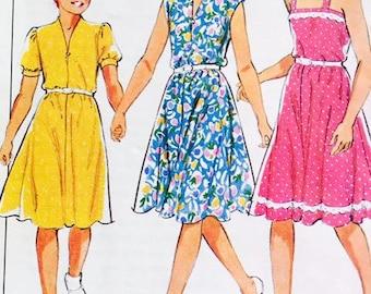 Style 3684 Girls Summer Dresses