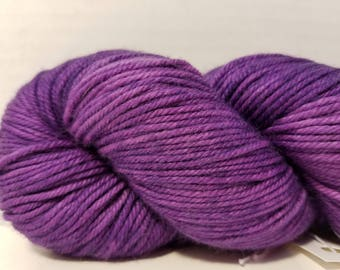 Hand Dyed Cashmere, Merino, Nylon DK weight yarn, 230 yds, 100g, 4 ply yarn
