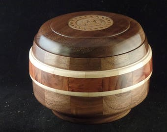 Belted Pet Urn # 1078-40