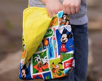 Mickey Mouse Bag, Kids Bag, Toddler Messenger Bag, Boys Mickey Mouse, Mickey Mouse Tote, Disney Tote, Boys Messenger Bag, Toddler Bag, Boys