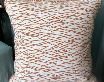Perrennials Sticks-Mandarin Accent Pillow