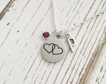 Personalized Love Connection Necklace