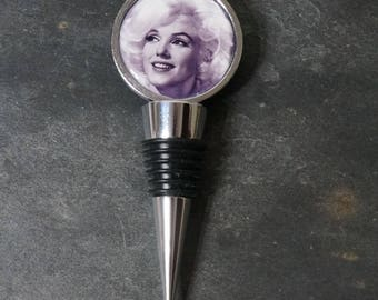 Wine Bottle Stopper Bottle Stopper Marilyn Monroe Movies