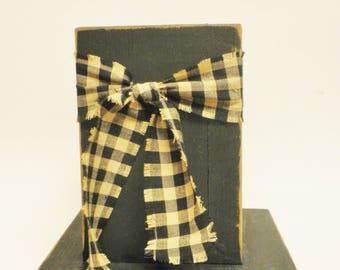 Twig Box, Primitive Boxes, Wood Vases, Country Farmhouse Decor