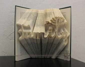 Family (tree) - Folded Book Art