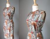 Sheath Dress / Vtg 50s/ J...