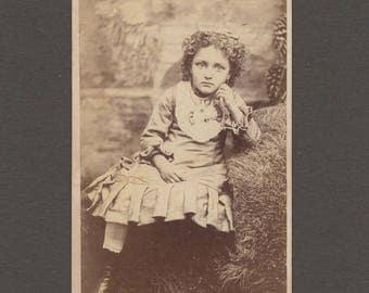 CDV of a Well Dressed Little Girl