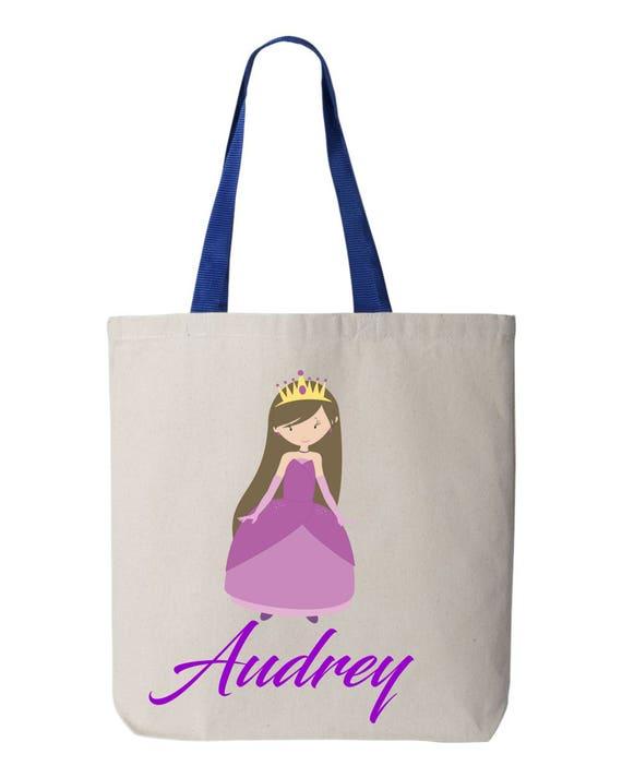 Kids book bag,kids personalized bag, customized tote bag, cloth grocery bag, School bag, daycare bag