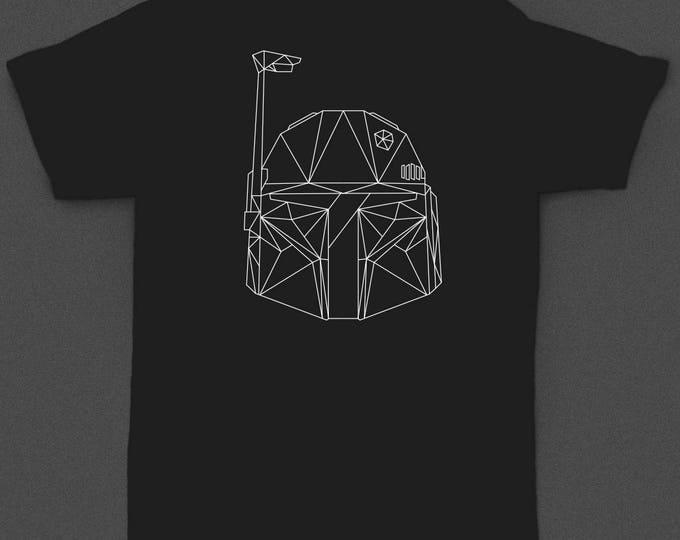"""Star Wars """"Boba Fett Geometric"""" - Tshirt"""