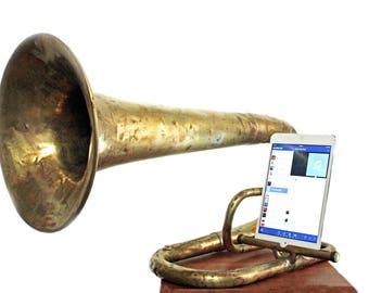 Vintage Musical Instrument Speaker iPhone/ iPad