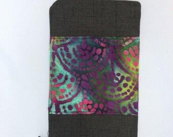 Batik small clutch