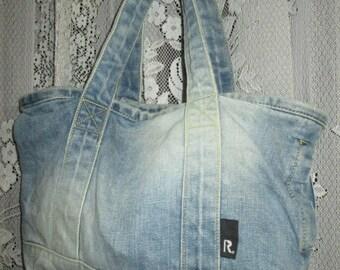 Authentic Rootote Japan Denim Tote Bag
