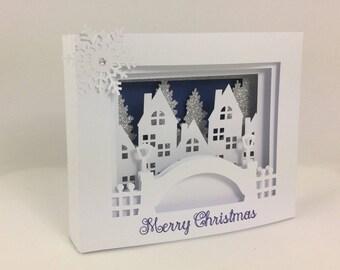 3d christmas cards pop up xmas cards christmas gift handmade christmas cards