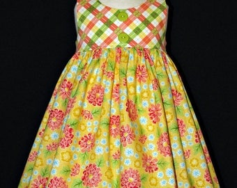 Girls size 2 Endless Summer dress ready to ship MADE in the USA La Petite Armoire