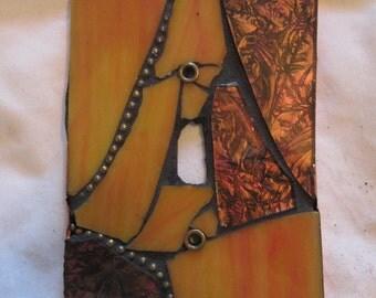Single Toggle Mosaic Switch plate