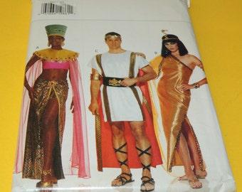Uncut Adult Men and Womens Halloween Costume Pattern Butterick 3587