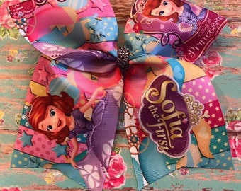 Sofia the First Cheer Bow