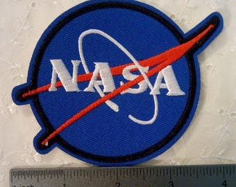 NASA Space Embroidered Applique Iron on Patch NEW