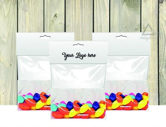 favor template and mockup candy bag printable bag toppers