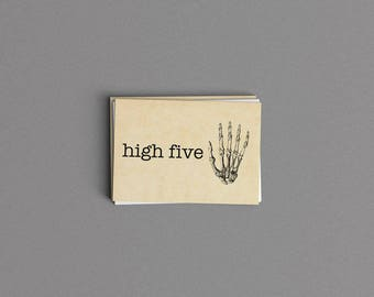 High Five Congratulations Card or Print