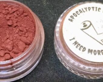 I Need More Parts - sanguine red matte vegan eyeshadow