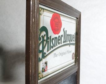 Vintage Pilsner Urquell Bar Mirror Chalkboard