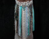 RESERVED for Julianna - Custom Gypsy Pocahontas Fringe Bag