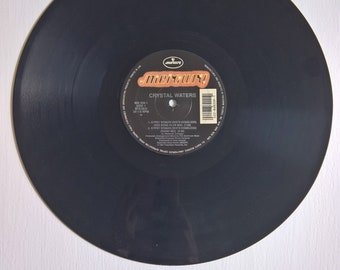 Gypsy Woman by Crystal Waters Vintage Single Record --- 1990's Pop Dance Music Vinyl Party DJ Dance Song --- Cool 90's Remix Deep House