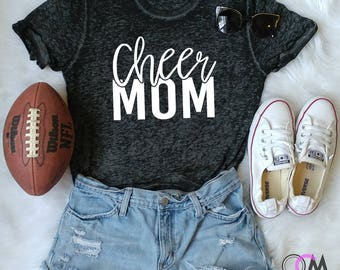 Cheer Mom Shirt, Cheer Mama, Cheer Mom, Cheer Coach Shirt, Glitter Cheer Mom, Cheerleader Shirt, Custom Cheer Shirts