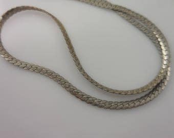 Necklace Sterling Silver 925 Necklace  16''