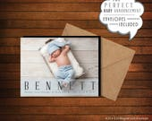 New Baby | Newborn | Birth Announcement Magnets | Personalized Photo Magnets > Envelopes Included > FREE SHIPPING