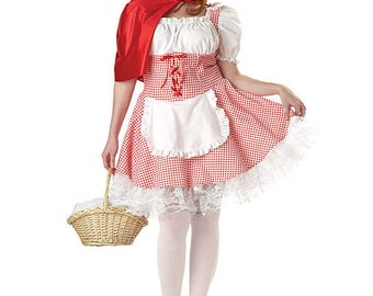 little red riding hood costume dress halloween costume oktoberfest heidi german dirndl