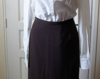 Brown skirt right vintage. 1940s style