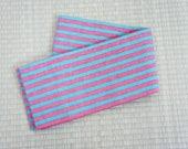Pastel pink blue striped ...
