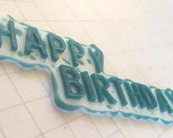 happy birthday title card topper, card making embellishments, creative card making, scrapbooking and card making, card making designs
