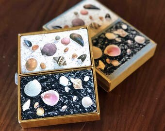Vintage Seashell Playing Cards